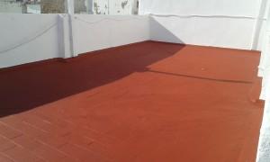 Reparación pintado e impermeabilización de azotea en cádiz